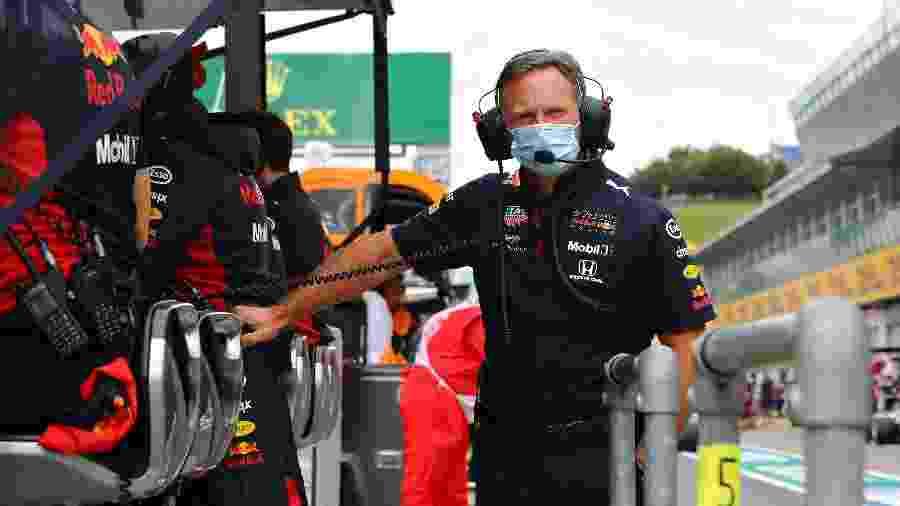 Chefe da Red Bull, Christian Horner, no GP da Áustria - Getty Images