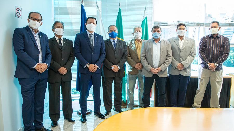 Diretoria do Cruzeiro, liderada por Sérgio Santos Rodrigues, tenta volta ao Profut, programa de parcelamento de dívidas do governo - Igor Sales/Cruzeiro