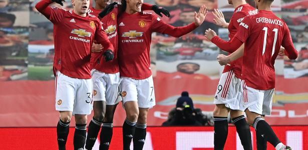Em jogo agitado e com 5 gols, Manchester United elimina Liverpool na FA Cup
