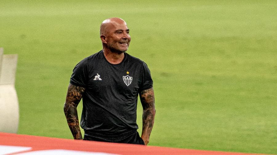 Jorge Sampaoli deixou o Galo após a última rodada do Brasileirão - Alessandra Torres/AGIF
