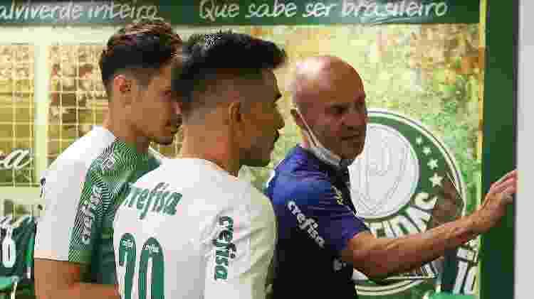 Vitor Castanheira, auxiliar de Abel Ferreira no Palmeiras - Cesar Greco - Cesar Greco
