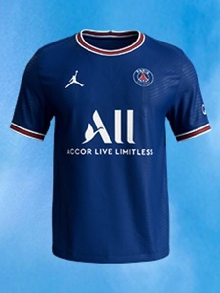 Nova camisa do PSG para a temporada 21/22 foi lançada hoje - Reprodução/PSG