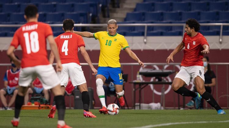 Richarlison - Lucas Figueiredo/CBF - Lucas Figueiredo/CBF