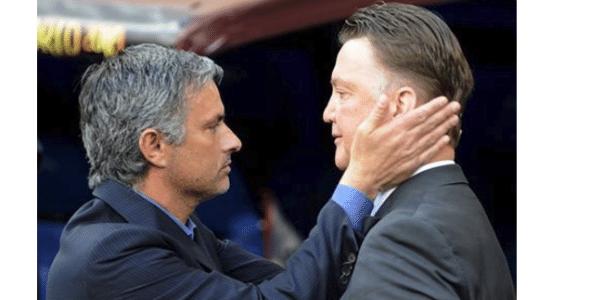 Mourinho aguarda um 'sim' do Manchester United para pegar lugar de Louis Van Gaal