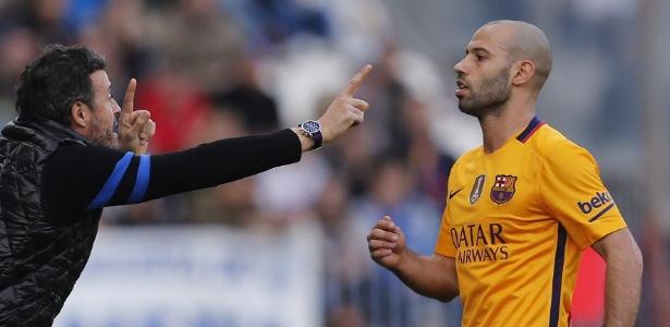 Mesmo titular do Barça e da seleção argentina, Mascherano negou qualquer relaxamento