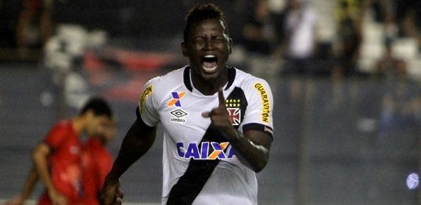 Riascos deixa o Vasco como artilheiro da equipe na temporada com 10 gols
