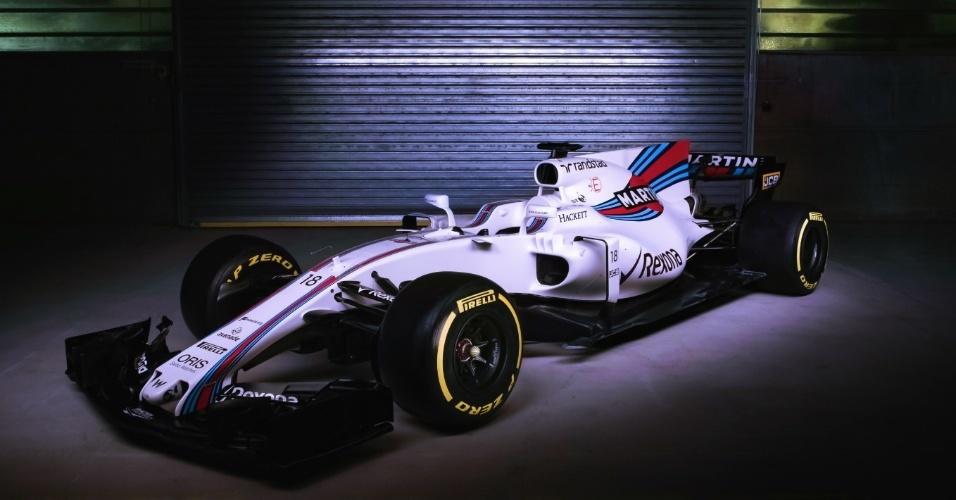 Novo Williams FW40 tem menos detalhes do que carros dos rivais