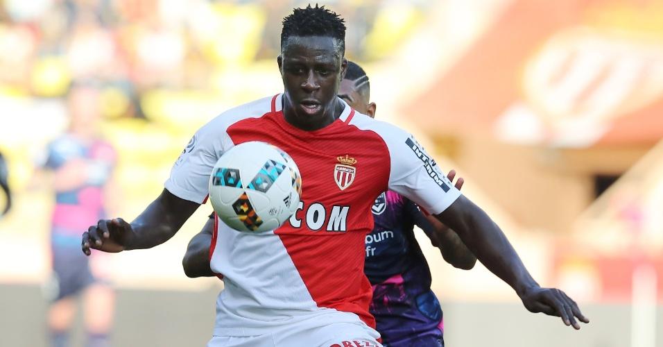 O lateral Benjamin Mendy em um jogo do Monaco