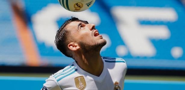 Dani Ceballos se apresenta ao Real Madrid