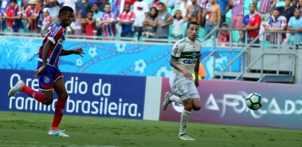 Atacante Rildo defendeu o Coritiba no último Campeonato Brasileiro