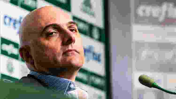 Maurício Galiotte, presidente do Palmeiras - Ale Cabral/AGIF - Ale Cabral/AGIF