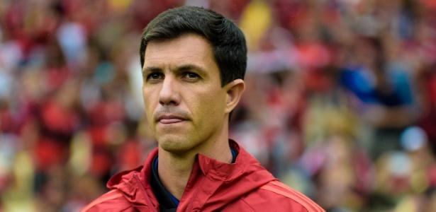 Mauricio Barbieri era auxiliar-técnico e vinha trabalhando como interino no Fla