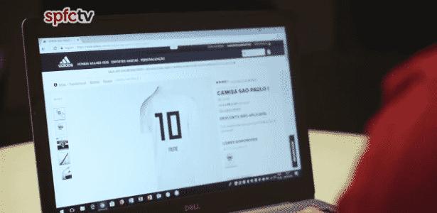 nene - reprodução/São Paulo FC - reprodução/São Paulo FC