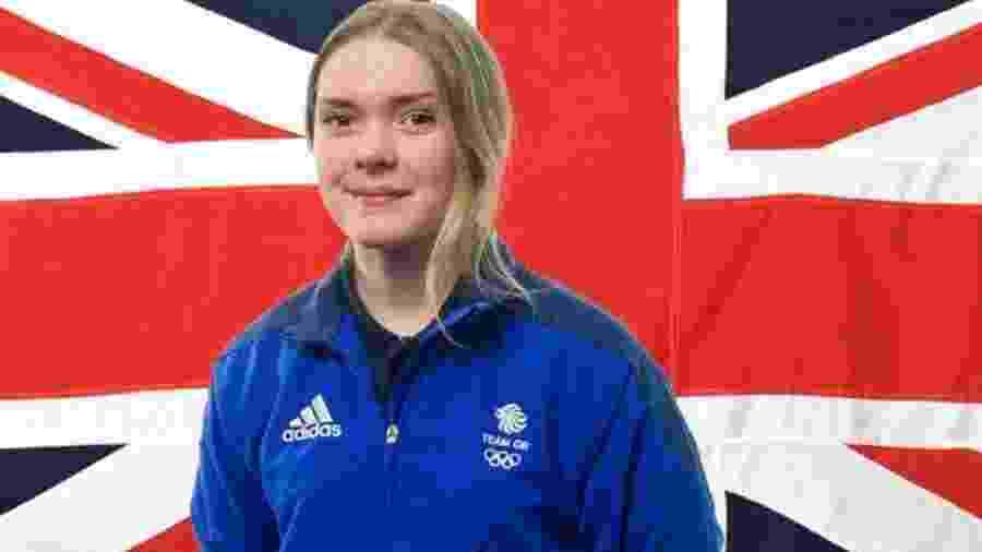 Ellie Soutter, atleta britânica, que morreu aos 18 anos  - Divulgação