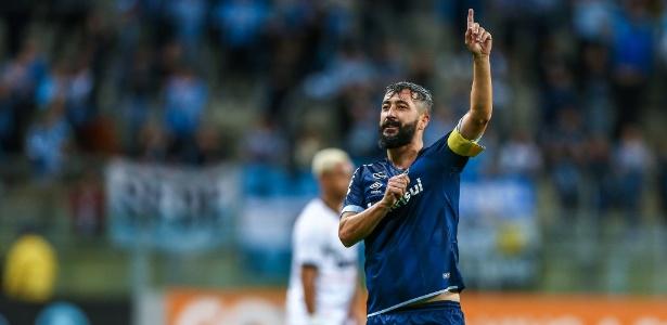 O meia Douglas é um dos que deixa o Grêmio para temporada 2019 - Lucas Uebel/Grêmio
