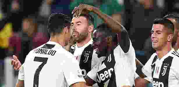 Matuidi e Cristiano Ronaldo - Massimo Pinca/Reuters - Massimo Pinca/Reuters