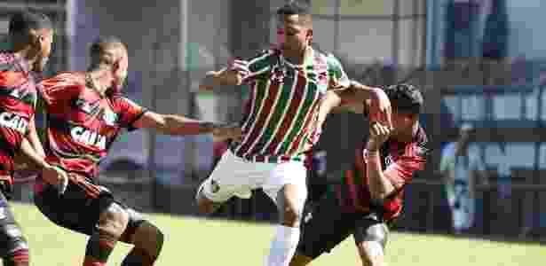 O Flamengo pediu novo adiamento da final contra o Fluminense pela Copa BR sub-17 - Mailson Santana/Fluminense