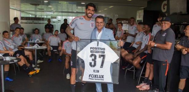 Vilson se despediu do Corinthians neste sábado