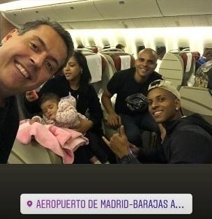 Vendido desde junho ao Real Madrid, Rodrygo Goes desembarcou em Madri em 6 de dezembro