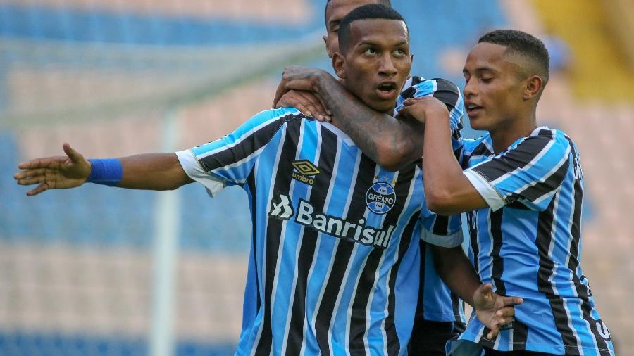 De volta após empréstimo ao Ceará, Léo Chu foi inscrito com a camisa 18 na Libertadores - Divulgação/Grêmio