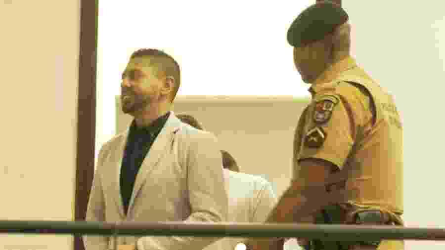 Edison Brittes Júnior em fevereiro, na audiência do caso Daniel  - FRANKLIN FREITAS/ESTADÃO CONTEÚDO