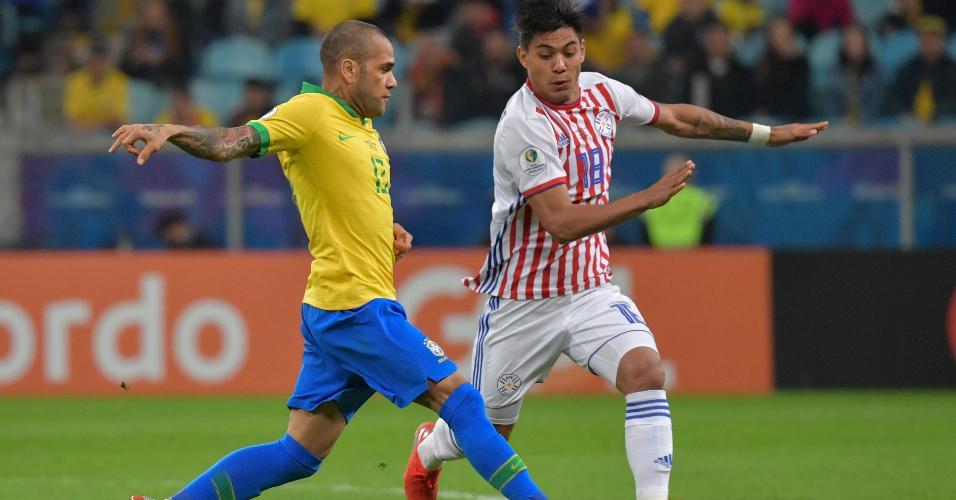 Brasil x Paraguai pelas quartas de final da Copa América