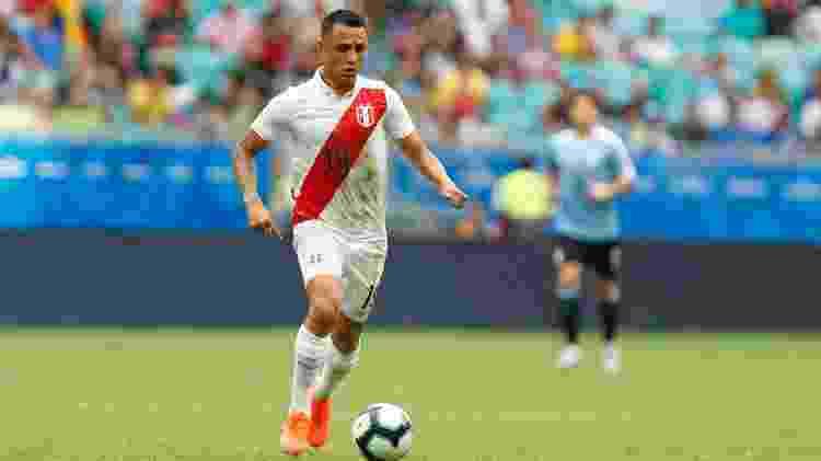 Yoshimar Yotun, jogador do Peru - Felipe Oliveira/Getty Images - Felipe Oliveira/Getty Images