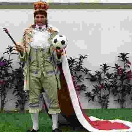 Autor do gol de barriga pelo Fluminense, Renato Gaúcho virou Rei do Rio em 1995 - Reprodução/Twitter - Reprodução/Twitter
