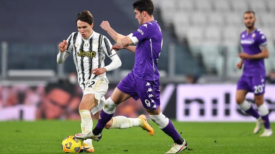 Juventus e Fiorentina se enfrentam pelo Campeonato Italiano  - Valerio Pennicino/Getty Images