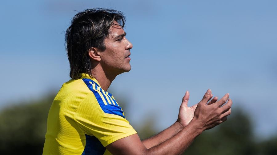 Marcelo Moreno é um dos medalhões que estão com futuro indefinido na Toca da Raposa II - Gustavo Aleixo/Cruzeiro