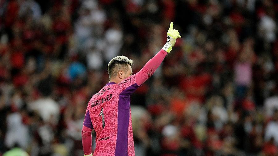 Diego Alves foi um dos destaques da partida entre Flamengo e Barcelona-EQU - Staff Images / CONMEBOL
