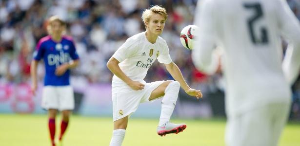 Odegaard já causou ciúme e teve problemas com Zidane - Jon Olav Nesvold/Reuters
