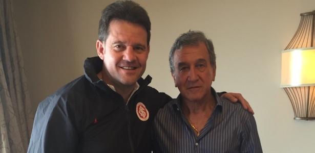Argel, técnico do Inter, recebe a visita de Carlos Alberto Parreira nos Estados Unidos - Divulgação/TXT Sports an Business