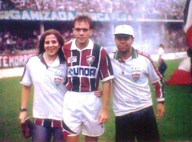 Sorlei em 1995, quando atuava no Fluminense