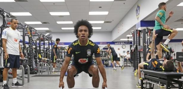 Willian é um dos destaques da seleção brasileira nos Estados Unidos