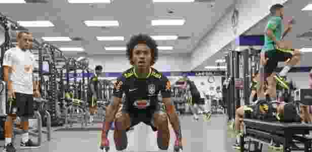 Willian é um dos destaques da seleção brasileira nos Estados Unidos - Rafael Ribeiro/CBF