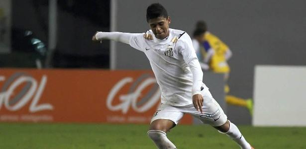 Após sumiço, Diogo Vitor foi promovido por Dorival e pode estrear contra o Botafogo