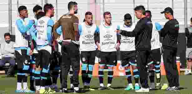 Renato Gaúcho utilizará titulares na quarta-feira e reservas no próximo sábado - RODRIGO RODRIGUES/GREMIO FBPA