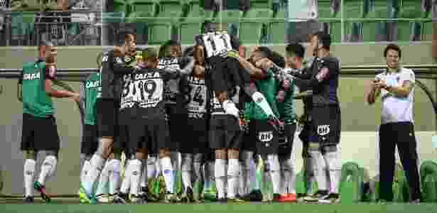 Jogadores do Atlético-MG acreditam que vitória sobre o Flamengo mantém vivo o sonho do título - Bruno Cantini/Clube Atlético Mineiro