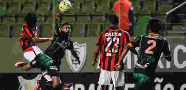 América-MG e Atlético-PR fizeram partida de poucas oportunidades - Thomas Santos/AGIF - Thomas Santos/AGIF