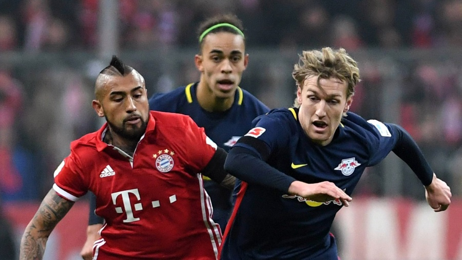 Arturo Vidal, jogador do Bayern de Munique - Xinhua/Imago/ZUMAPRESS