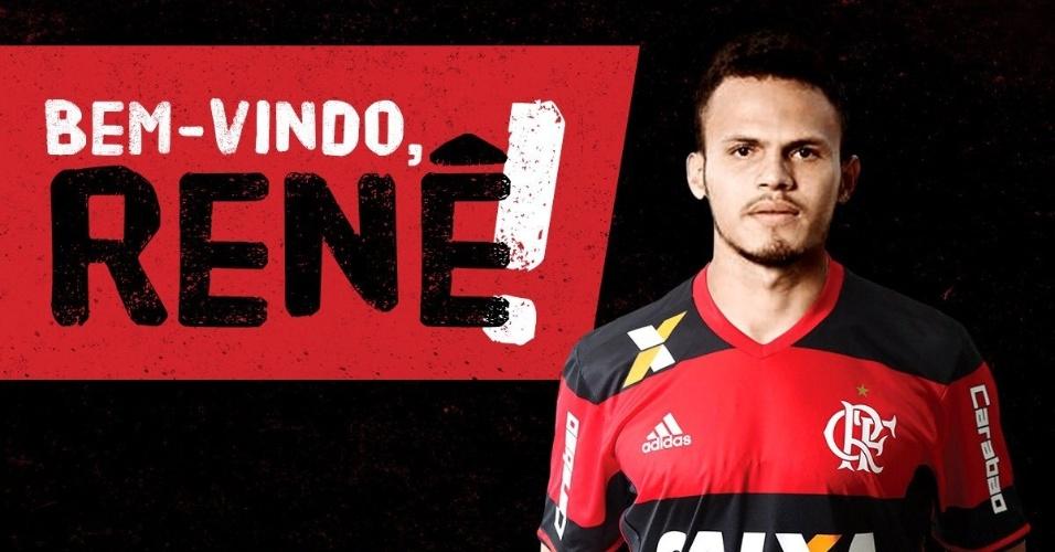 Renê, ex-Sport, é confirmado no Flamengo