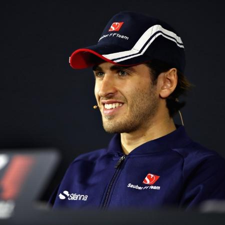 Antonio Giovinazzi, quando correu pela Sauber em 2017 - Clive Mason/Getty Images