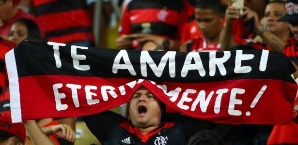 Torcida do Flamengo compareceu mais uma vez em peso ao Maracanã