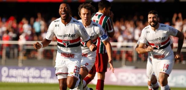 Jucilei se tornou um dos pilares do time do São Paulo em 2017