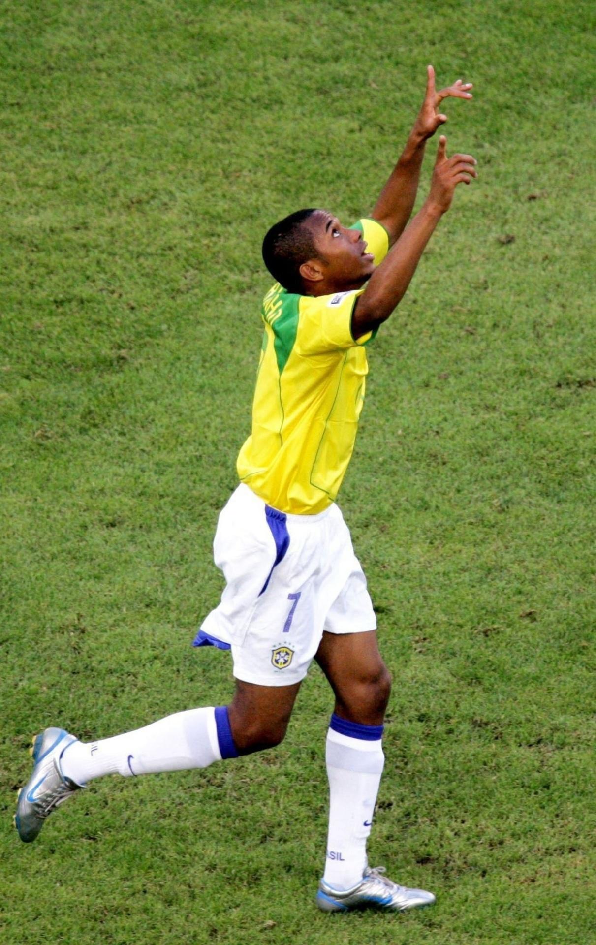Robinho na Copa das Confederações de 2005