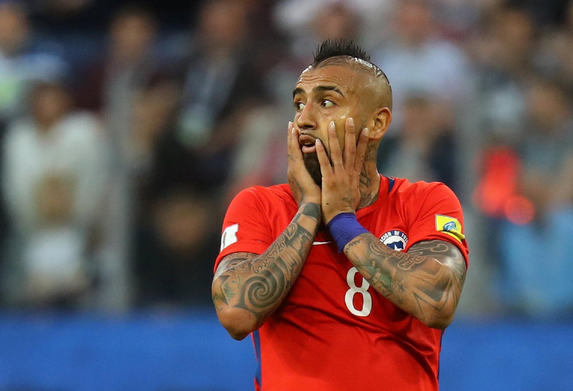 cf3082735a Vidal anuncia que deixará seleção do Chile após a Copa de 2018 - 06 09 2017  - UOL Esporte