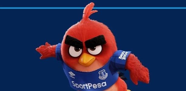 Everton acertou patrocínio com a produtora do jogo Angry Birds