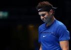Com joelho debilitado, Nadal perde para belga em estreia no ATP Finals - REUTERS/Hannah McKay