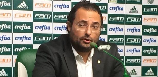 Alexandre Mattos concedeu entrevista coletiva na Academia de Futebol
